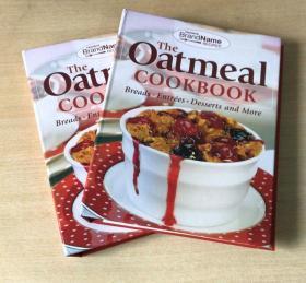 The Oatmeal Cookbook 燕麦食谱 西餐美食烹饪技巧及做法菜谱   面包-主菜-甜点等等烹饪做法技巧 【精装143页】