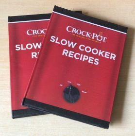 英文slow cooker recipes Crock-Pots 2018慢炖锅美食烹饪技巧及制作方法 食谱菜谱【精装128页】
