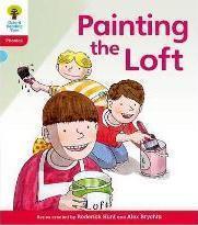 Oxford Reading Tree: Level 4: Floppy's Phonics Fiction: Painting the Loft