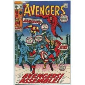 Essential Avengers, Vol. 4 (Marvel Essentials)