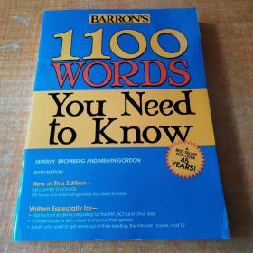 Barron's 1100 Words You Need to Know Barron的1100个你应该知道的词