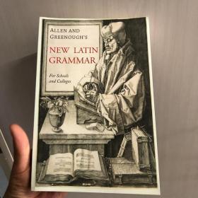 现货一本 [英文版•包邮] Allen and Greenough's New Latin Grammar 《拉丁语语法新编》(新书) 2017最新版