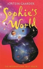 预售挪威大师级作家乔斯坦贾德sophie's world jostein gaarder