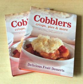 cobblers crisps pies more 西餐美食食谱烹饪技巧及方法英文菜谱 包邮 【精装 128页】