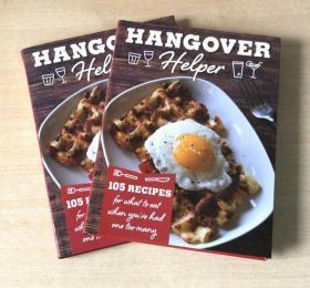英文版HANGOVER helper 105个烹饪食谱 西餐美食食谱烹饪技巧菜谱  【平装176页】