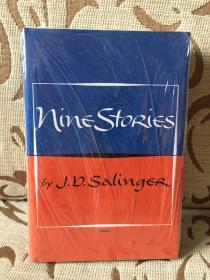 Nine stories - J.D.Salinger 塞林格《九故事》 - 小布朗出品 精装本 全新带塑封