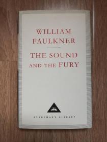 The Sound And The Fury 喧哗与骚动 William Faulkner 福克纳 everymans library 人人文库 英文原版 布面封皮琐线装订 丝带标记 内页无酸纸可以保存几百年不泛黄