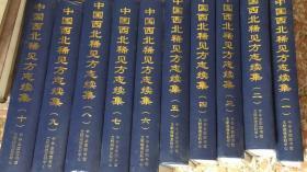 中国西北稀见方志续集( 影印本 16开精装 全十册 原箱装)