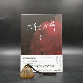 台湾联经版  路内《少年巴比伦》(锁线胶订)