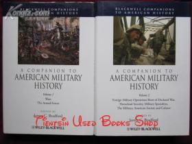 A Companion to American Military History(2 Volume Set)美国军事史指南(全2卷集 英语原版 精装本)