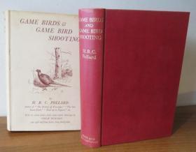 1936年Game Birds and Game Bird Shooting《猎鸟图趣》插图初版本 原书衣全 品相上佳