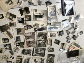 老照片一堆,带几十张底片,详细看图,