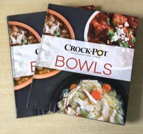 CROCK-POT BOWLS 慢炖锅食谱 西餐美食烹饪技巧及做法菜谱 英文版  【平装192页】