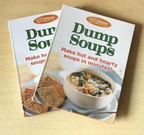 英文版 Dump Soups 快速做汤的制作技巧美味食谱 西餐烹饪菜谱 各种做汤的制作方法与技巧 【精装127页】