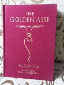 The Golden Asse by Lucius Apuleius -- 阿普列乌斯《金驴记》Calla editions出品 Jean de Bosschere插画 全铜版纸印刷 超厚重