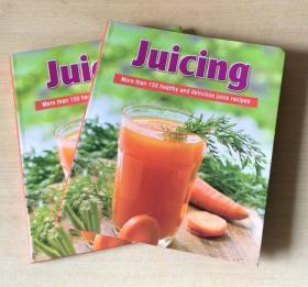 Juicing榨汁150种鲜榨营养果汁食谱制作配方餐厅酒吧英文美食菜谱  【平装 190页】
