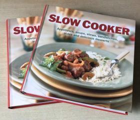 英文版 Slow Cooker慢炖锅食谱大全 美食菜谱 烹饪著作技巧 【平装 加厚 超厚 383页】