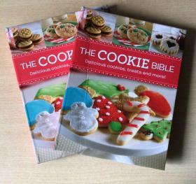 The Cookie Bible 甜点饼干烘焙布朗尼蛋糕美食食谱烹饪制作技巧菜谱 英文版 【精装 144页】