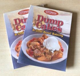 英文版Dump Cakes & One-Bowl Baking 烘焙甜品蛋糕制作技巧与做法美食菜谱【精装128页】