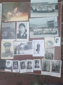 毛主席,朱德,军人照片一堆