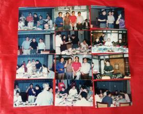 老照片 歌唱家 --蒋大为 刘欢 相声演员--牛群 等早期(九十年代)照片【共计12张】