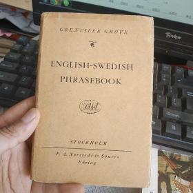 ENGLISH-SWEDISH  PHRASEBOOK   ALPHABETICALLY  ARRANGED   WITH  A  CONCISE    GRAMMAR