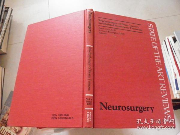 Neurosurgery  Brachytherapy of Brain Tumors and Related Stereotactic Treatment