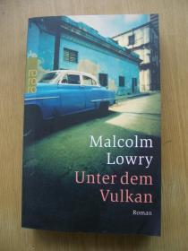 Malcolm Lowry Unter dem vulkan【德文原版】32开【外文书--31】