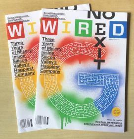 美国版 WIRED 连线 2019年9月 英文科技杂志 现货