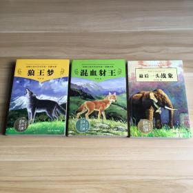 动物小说大王沈石溪·品藏书系:狼王梦 混血豺王 最后一头战象(3册合售)