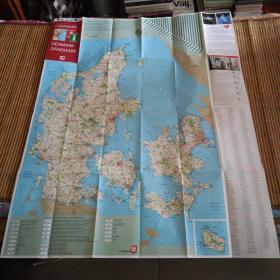 丹麦个旅游图