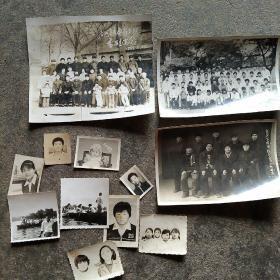 70年代老照片12张合售