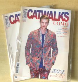BOOK CATWALKS UOMO 2014年春夏 T台走秀时尚潮流趋势服装英文杂志