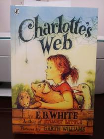 Charlotte's WebPenguin Uk夏洛的网,英文版,瑕疵如图,介意勿拍,包邮,(封面有勒痕,其他完好)