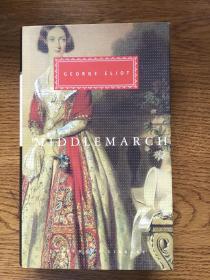 Middlemarch 米德尔马契 George Eliot 乔治·艾略特 Everyman's Library 人人文库 全网最低价包邮(人人文库全场2件9.5折,3件9折)