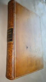 1876年 CATALOGUE OF SPECIMENS  《英国陶瓷器图考》全小牛皮豪华装帧 名坊Peter Lane出品 全插图古董书 增补插图 品佳