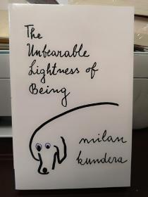 The Unbearable Lightness of Being生命中不能承受之轻,瑕疵如图,介意勿拍,包邮(封面有勒痕,其他完好)