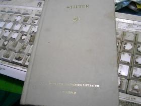 STIFTER(德文版)