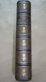 1882 年Walter Scott _  Quentin Durward 司各特经典名著《惊婚记》(《昆廷•达沃德》) 珍贵全版画插图本 名人铜版画藏书票 3/4摩洛哥羊皮豪华精装 大量铜版画及木刻插图