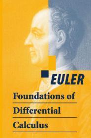 现货 Foundations of Differential Calculus    英文原版 微分学基础 微积学基础  欧拉 Leonard Euler   Blanton