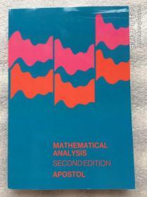 预订2周到货   Mathematical Analysis: A Modern Approach to Advanced Calculus  2e 英文原版 第2版 数学分析:高级微积分的现代方法 阿波斯托尔 Tom M. Apostol