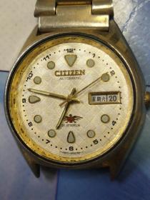 西铁城全自动机械手表老手表 非欧米茄,劳力士,浪琴