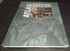 2手英文 Times Atlas of the Second World War 泰晤士二战地图 xcc11