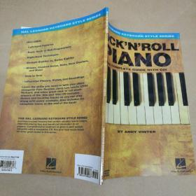 Rock'N'Roll Piano: The complete guide with CD 摇滚钢琴:完整指南(附CD)