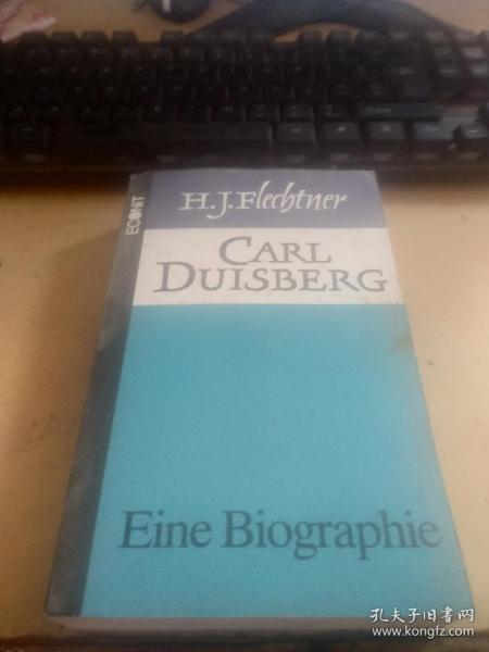 德文原版 CARL DUISBERG.H.J.FLECBTNER