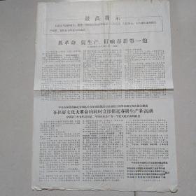 文革时期公告