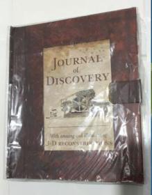 Journal of Discovery   英文原版立体书  精装  库存全新
