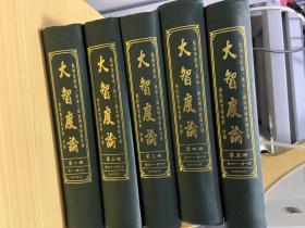 大智度论(1-5册合售)