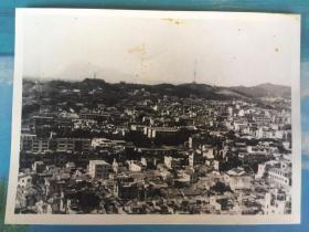 五六十年代原版老照片-广州越秀山中山纪念堂一带