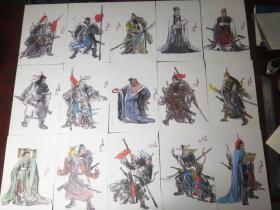三国人物画,(蜀国),共36张